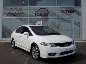 Honda Civic Sedan Si 2010 - Lallier Auto