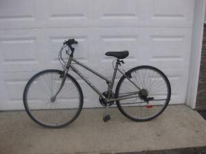 Ladies LEADER Silhouette 18 speed hybrid bike
