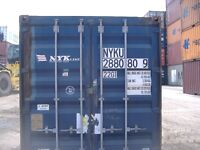 Shipping Containers Landed in Victoria for $2,500