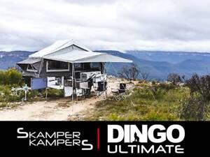 2018 Dingo Ultimate Hard Floor Camper Trailer by Skamper Kampers