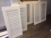 White wooden shutters for sale