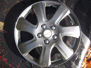 Several assorted Hubcaps no sets