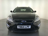 2014 64 FORD MONDEO ZETEC TDCI DIESEL 1 OWNER SERVICE HISTORY FINANCE PX WELCOME