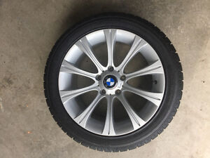 BMW M5 Style Rims and Snows 235/45R17