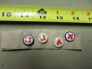 RED CROSS Military BADGES ISSUED  WW II 1940