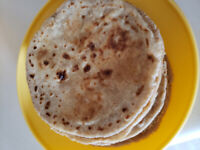 tiffin service - butter roti/bhakhri/thepla special