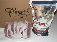 10% off of your first order of Carnivora Raw Dog Food