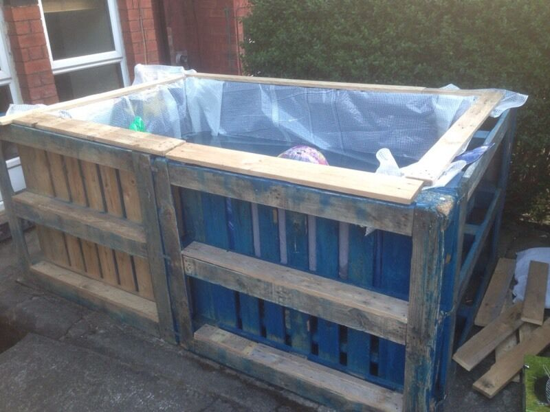 Swimming Pool Wooden Pallets In Hyde Park West Yorkshire Gumtree