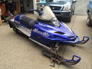 2001 Yamaha mountain max 700 triple