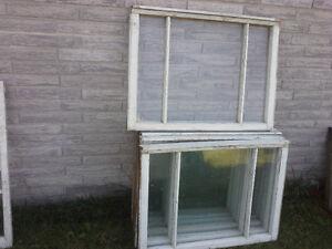 Fenêtres en bois. Utilisation pour serre, hangard, grange, etc. West Island Greater Montréal image 3