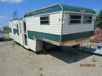 Fifth Wheel Travel Trailer For Sale