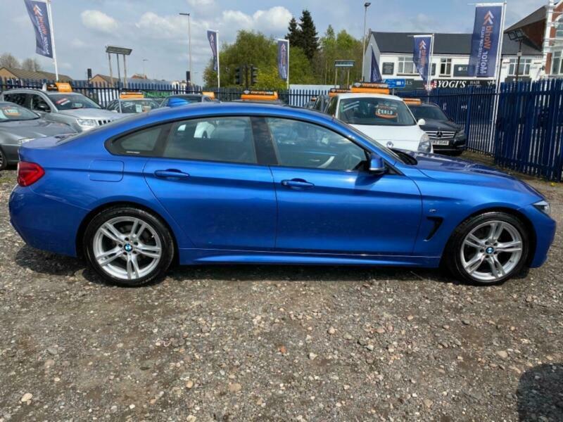 2017 BMW 4 Series 420D M SPORT GRAN COUPE Auto Coupe Diesel Automatic