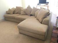 Next Corner Sofa - barely used