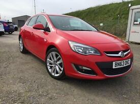 Vauxhall Astra 1.6i VVT 16v ( 115ps ) 13 63 SRi only 17,000 miles