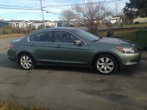 2008 Honda Accord green Sedan