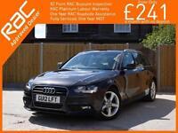 2012 Audi A4 2.0 TDI Turbo Diesel Technik 6 Speed Avant Estate Sat Nav Bluetooth