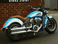 INDIAN SCOUT 1200 ICON SERIES EX DEMO