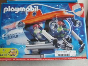 Playmobil Submarine – 100% COMPLETE! Great Pool Toy this summer