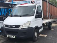 2011 11 IVECO-FORD DAILY 2.3 35S11 2D 106 BHP AUTO LWB RECOVERY TRUCK DIESEL