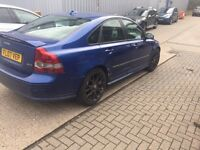 Volvo s40 2.0d sport blue (cat c) small damage see picture
