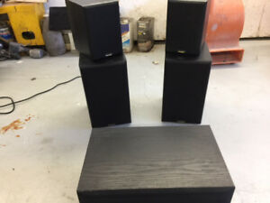 Priced right Canadian built home theater Paridigm speaker system