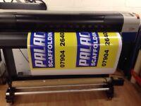Mutoh valuejet 1404 solvent printer