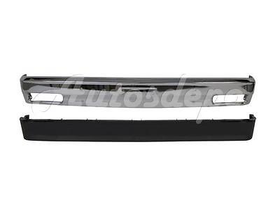 FOR 1982-1993 S10 S15 SONOMA FRONT BUMPER CHROME VALANCE W/O STRIP & FOG HOLE