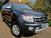 2014 FORD RANGER 2.2 TDCi ( 150PS ) ( EU5 ) 4x4 AUTO DOUBLE CAB LIMITED EDITION