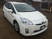 TOYOTA PRIUS 1.8 CVT T4 Hybrid WHITE 2011(61)