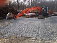 Brentwood Contracting.        Lot clearing-excavations