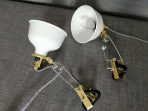 2 lamps IKEA Ranarp with bulb
