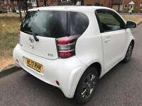 TOYOTA IQ 1.0 VVT-I (2013 13 REG) 3 DOOR + PEARL WHITE + LOW MILES 23K FROM NEW