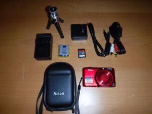 Camera Nikon Coolpix 16 Megapixels