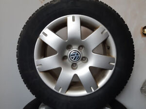 VW winter rims and tires