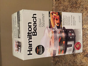 Brand new hamilton beach food steamer