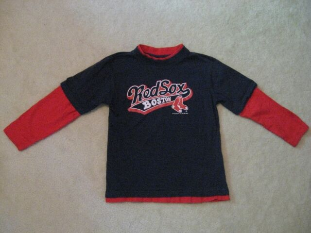 Boston Red Sox Kids Long Sleeve Shirt