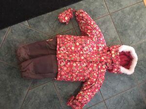 Size 24 month snow suit