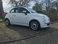 Fiat 500 1.2 LOUNGE 2009 Alloys Full Panoramic Electric Sunroof