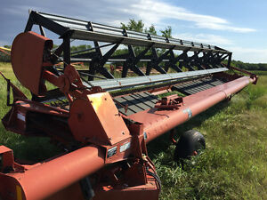 30' Hesston 1200 PT Swather - Excellent