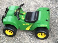 John Deere ride on kids toy with sounds and lights