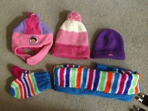 Various Girls Winter Toques Etc.