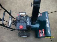 Craftsman 24 inch 5hp Snowblower.......Great Condition