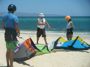 Learn to Kiteboard in Mexico this Fall