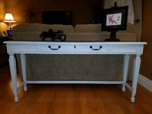 For Sale! Refinished Solid Wood Sofa/Hallway Table