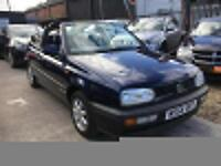 VOLKSWAGEN GOLF CABRIOLET 1.8 Blue Low Mileage Manual 1994 (M)