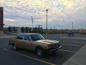 1983 Mercedes-Benz 300D Turbo, No rust, Works perfectly