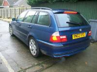 BMW 316 1.8 2002MY i SE Touring ESTATE