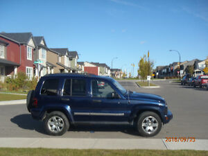 2007 Jeep Liberty SUV, Crossover, Trail Rated, 4x4