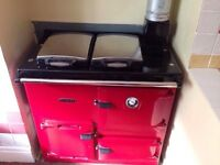 Rayburn red gas cooker - make me an offer