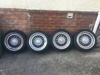"Calibre Vintage Alloys 17"" 5x100"